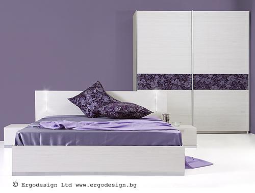 Спален комплект Флора мебели Ергодизайн