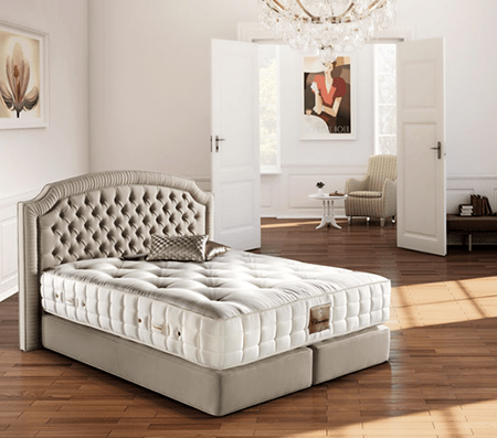 Тапицирани спални Serta / Тапицирано легло Clementine Deluxe