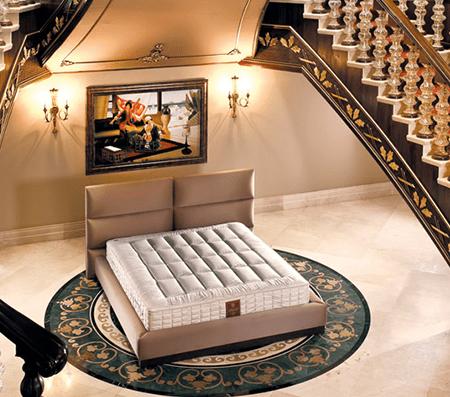 Тапицирани спални Serta / Тапицирано легло Lounge Set